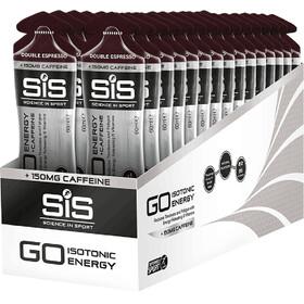 SiS GO Energy + Caffeine Gel Box 30x60ml, Double Espresso